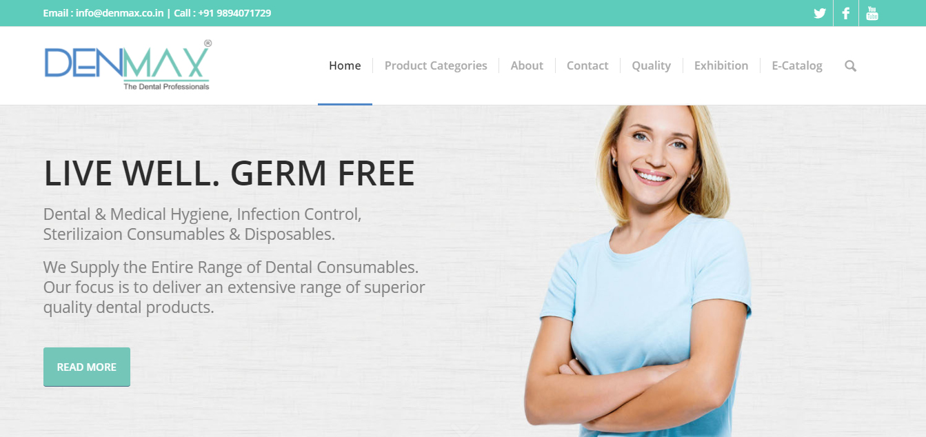 DENMAX DENTAL PRODUCTS SITE